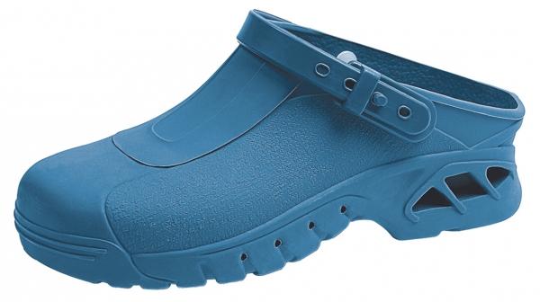 ABEBA-OB-Damen- u. Herren-Arbeits-Berufs-Clogs, blau