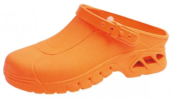 ABEBA-OB-Damen- u. Herren-Arbeits-Berufs-Clogs, orange