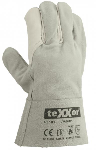 BIG-TEXXOR-Schweißer-Arbeits-Handschuhe, Yasur, natur