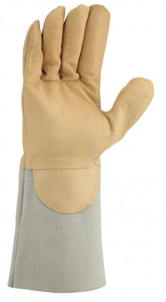 BIG-TEXXOR-Schweißer-Arbeits-Handschuhe, Argon III, beige