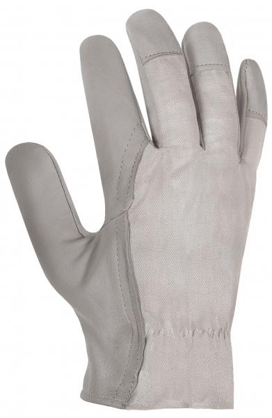 BIG-Ziegen- / Schafs-Nappa-Leder-Arbeits-Handschuhe, natur