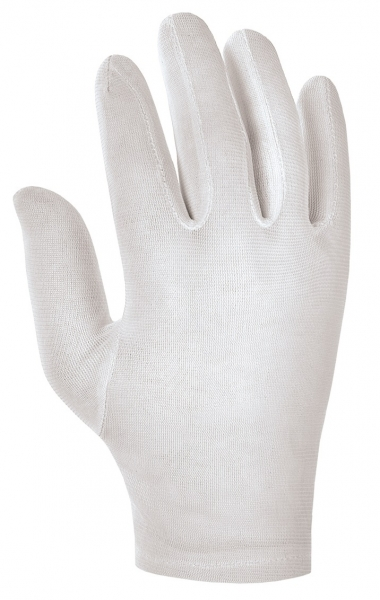 BIG-Nylon-Arbeits-Handschuhe, weiß