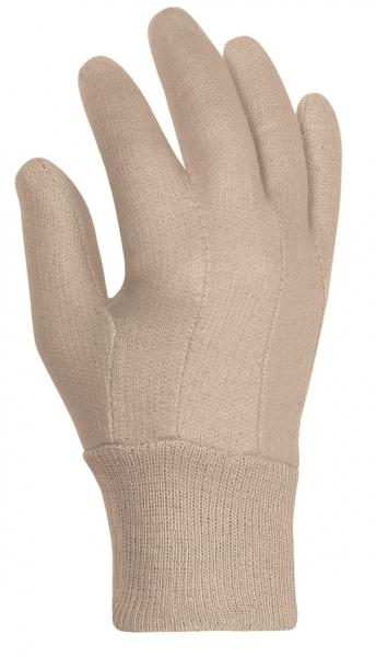 BIG-Baumwoll-Jersey-Arbeits-Handschuhe, rohweiß