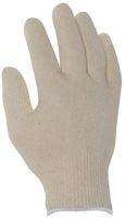 BIG-Baumwollfeinstrick-Arbeits-Handschuhe, rohweiß