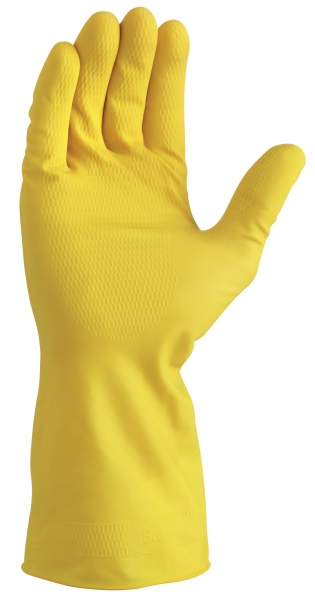 BIG-TEXXOR-Haushalts-Arbeits-Handschuhe, gelb
