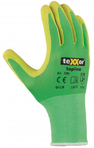 BIG-TEXXOR-Latex-Nylon-Strickhandschuhe