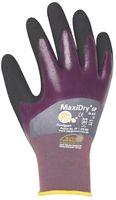 BIG-ATG-Nitril-Arbeits-Handschuhe, MaxiDry, grau/lila/schwarz