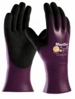 BIG-ATG-Nitril-Arbeits-Handschuhe, MaxiDry, lila/schwarz