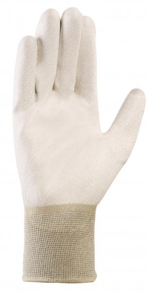 BIG-TEXXOR-ESD Nylon-/Kupfer-Strick-Arbeits-Handschuhe, weiß