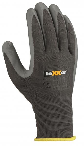 BIG-TEXXOR-Polyester-Arbeits-Handschuhe, grau