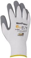 BIG-ATG-Nylon-Strick-Arbeits-Montage-Handschuhe, MaxiFoam, weiß/grau