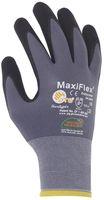 BIG-ATG-Nylon-Strick-Arbeits-Montage-Handschuhe, MaxiFlex Endurance mit Noppen, grau/schwarz