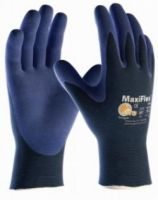 BIG-ATG-Nylon-Strickh-Arbeits-Montage-Handschuhe, MaxiFlex Elite, blau