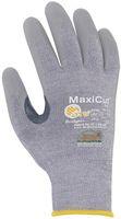 BIG-ATG-Schnittschutz-Strick-Arbeits-Handschuhe, MaxiCut Dry, hellgrau/grau