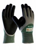 BIG-ATG-Schnittschutz-Strick-Arbeits-Handschuhe, MaxiCut Oil, grün/schwarz