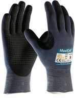 BIG-ATG-Schnittschutz-Strick-Arbeits-Handschuhe, MaxiCut Ultra DT, indigoblau