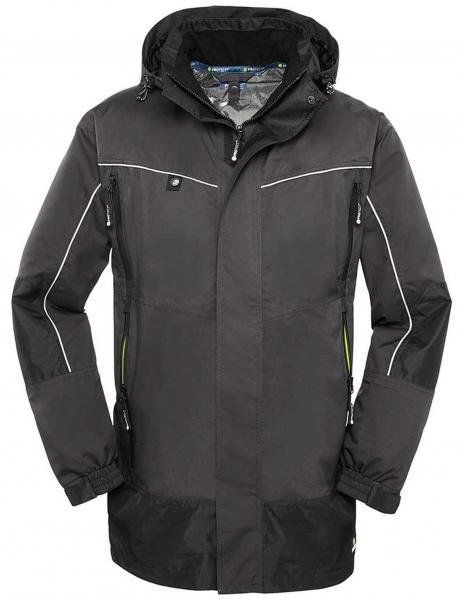 BIG-4-Protect-Wetterschutz-Jacke, PHILLY, grau/schwarz