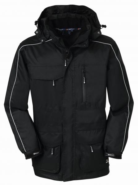 BIG-4-Protect-Regen-Jacke, Nässe-Wetter-Schutz, Denver, schwarz/schwarz