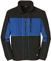 BIG-4-Protect-Fleece-Arbeits-Berufs-Jacke, Dallas, royalblau/schwarz