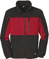 BIG-4-Protect-Fleece-Arbeits-Berufs-Jacke, Dallas, rot/schwarz