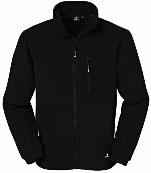 BIG-4-Protect-Fleece-Arbeits-Berufs-Jacke, Dallas, schwarz/schwarz