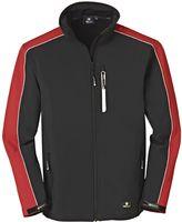 BIG-4-Protect-Softshell-Arbeits-Berufs-Jacke, Ohio, rot/schwarz