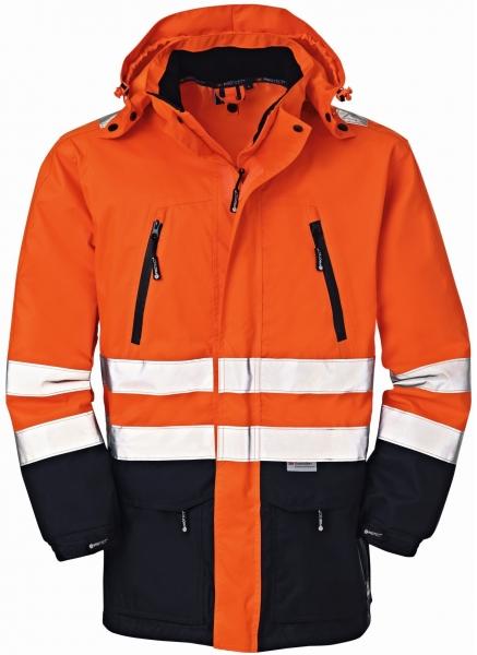 BIG-4-Protect-Warn-Wetter-Schutz-Jacke, Detroit, leuchtorange/navy