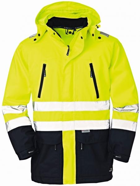BIG-4-Protect-Warn-Wetter-Schutz-Jacke, Detroit, leuchtgelb/navy
