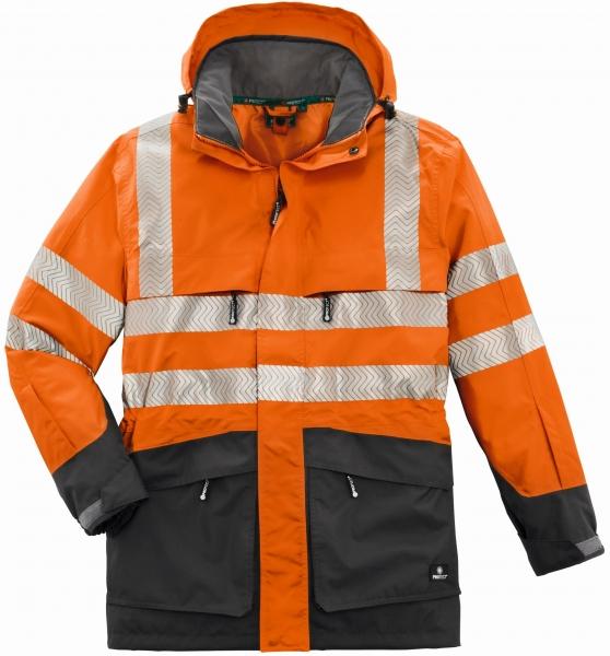 BIG-4-Protect-Warn-Wetterschutz-Jacke, Tampa, leuchtorange