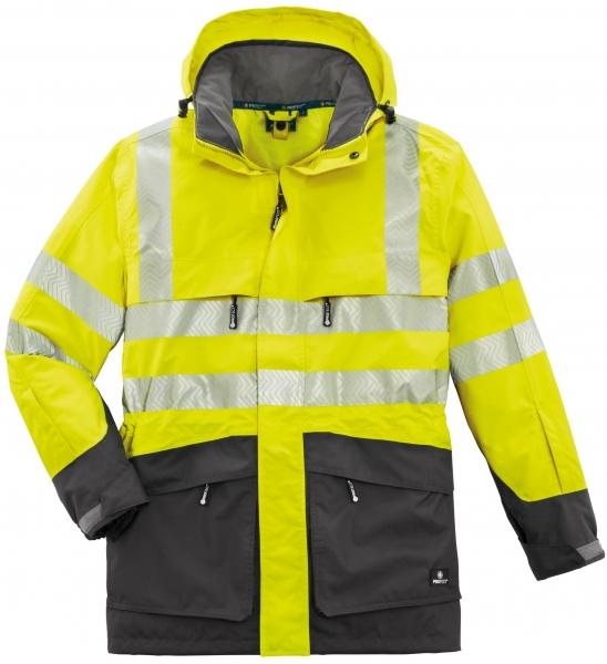 BIG-4-Protect-Warn-Wetterschutz-Jacke, Tampa, leuchtgelb