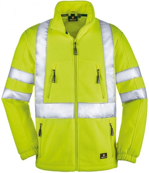 BIG-4-Protect-Warn-Schutz-Fleece-Jacke, Seattle, leuchtgelb