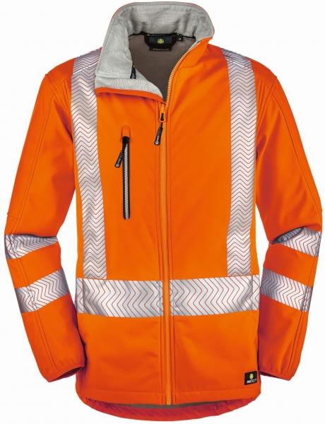 BIG-4-Protect-Warnschutz-Softshell-Jacke, Tyler, leuchtorange