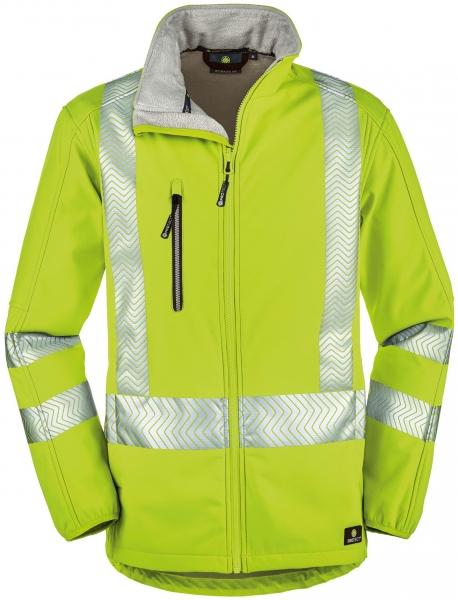 BIG-4-Protect-Warnschutz-Softshell-Jacke, Tyler, leuchtgelb