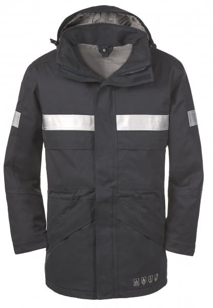 BIG-4-Protect-Schweißer-Arbeits-Schutz-Berufs-Jacke, Multinorm-Parka, Ottawa, navy