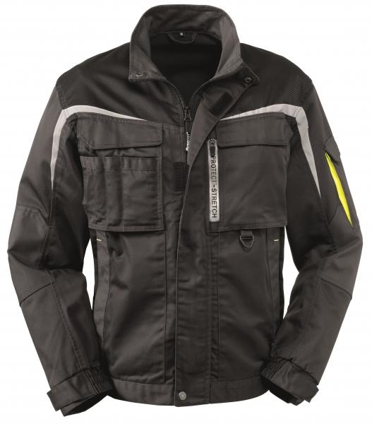 BIG-4-Protect-Arbeits-Berufs-Bund-Jacke, Arkansas, grau/schwarz