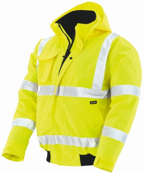 BIG-TEXXOR-Warn-Schutz-Piloten-Jacke, Whistler, leuchtgelb