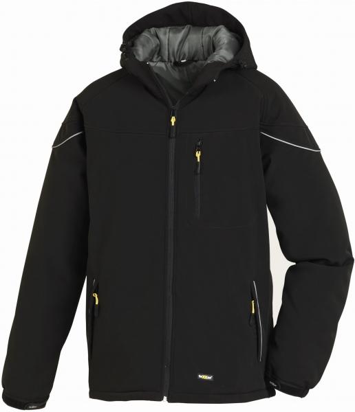 BIG-TEXXOR-Winter-Softshell-Arbeits-Berufs-Jacke, Vail, schwarz