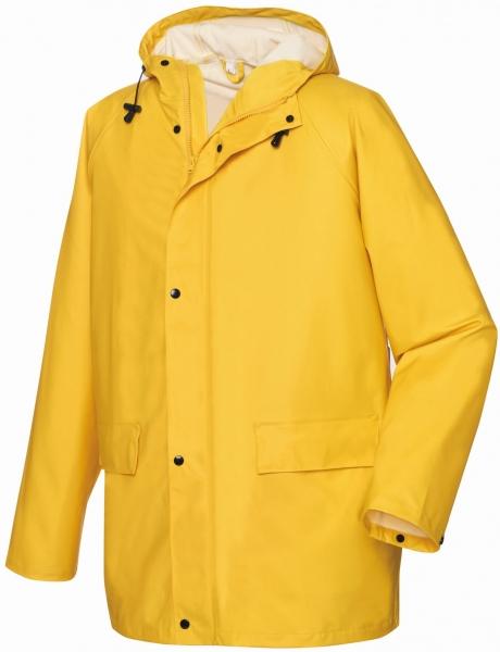 BIG-TEXXOR-Regen-Jacke, Nässe-Wetter-Schutz, List, ca. 190g/m², gelb