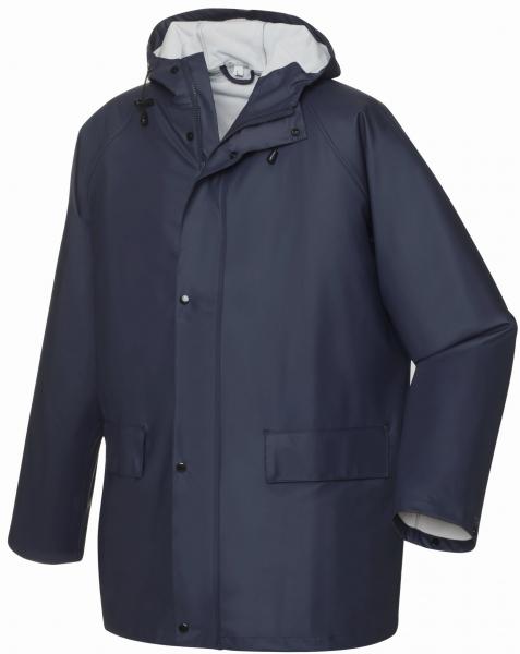 BIG-TEXXOR-Regen-Jacke, Nässe-Wetter-Schutz, List, ca. 190g/m², navy