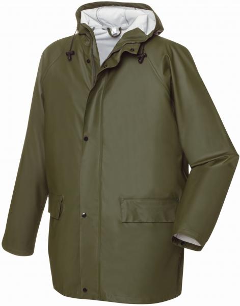 BIG-TEXXOR-Regen-Jacke, Nässe-Wetter-Schutz, List, ca. 190g/m², oliv
