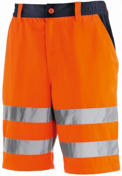 BIG-TEXXOR-Warn-Schutz-Shorts, Erie, leuchtorange/navy