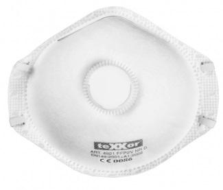 BIG-TEXXOR-Filtrierende Halbmaske, FFP 2V1, Box: 20 Stück, VE: 20 Boxen/Karton