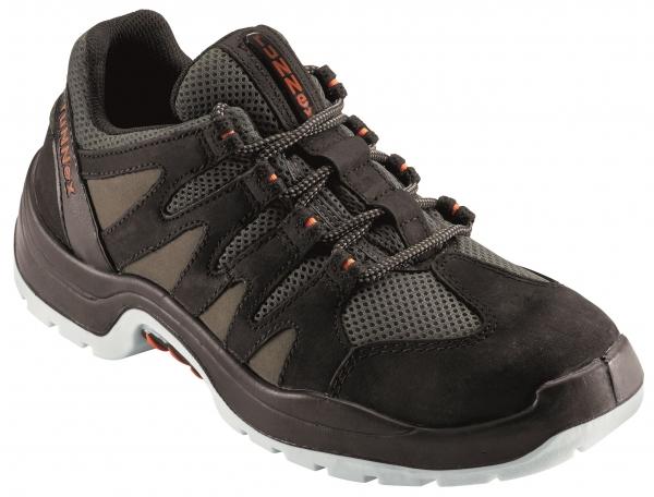 BIG-ruNNex-S1-Sicherheits-Arbeits-Berufs-Schuhe, Halbschuhe, TeamStar, schwarz/grau