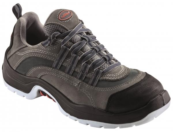 BIG-ruNNex-S2-Sicherheits-Arbeits-Berufs-Schuhe, Halbschuhe, TeamStar, schwarz/grau/blau