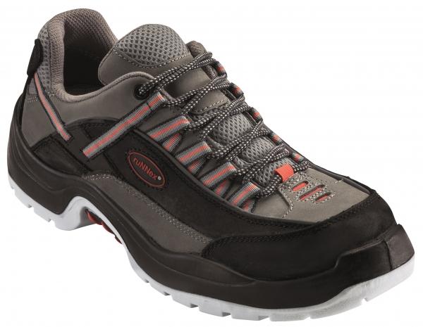 BIG-ruNNex-S2-Sicherheits-Arbeits-Berufs-Schuhe, Halbschuhe, TeamStar, schwarz/grau/orange