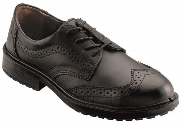 BIG-ruNNex-S2-Sicherheits-Arbeits-Berufs-Schuhe, Halbschuhe, OfficeStar, schwarz