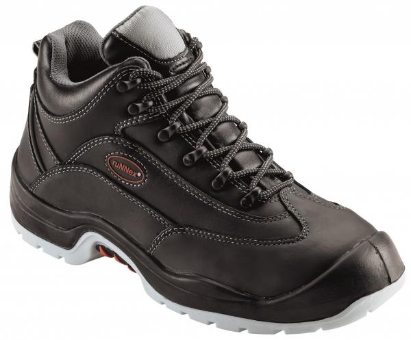 BIG-ruNNex-S3-Schnürstiefel, Sicherheits-Arbeits-Berufs-Schuhe, Hochschuhe, TeamStar, schwarz