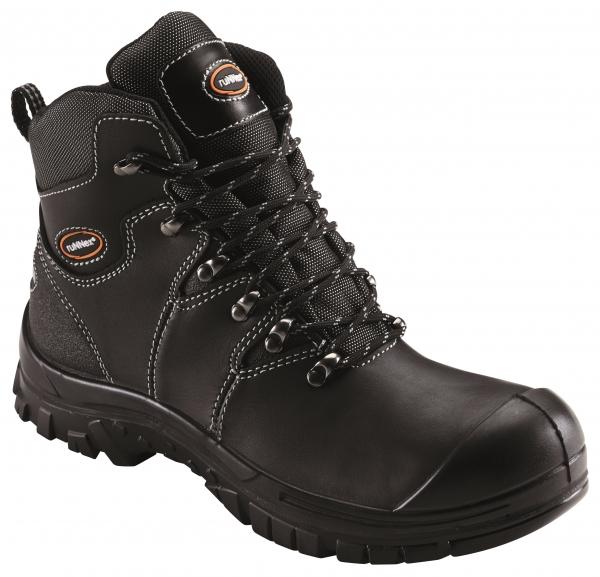 BIG-ruNNex-S3-Schnürstiefel, Sicherheits-Arbeits-Berufs-Schuhe, Hochschuhe, AquaStar, schwarz