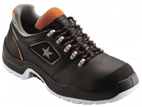 BIG-ruNNex-S3-Sicherheits-Arbeits-Berufs-Schuhe, Halbschuhe, TeamStar, schwarz/orange