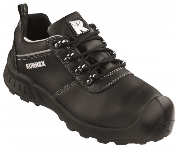 BIG-ruNNex-S3-Sicherheitshalbschuhe, TeamStar, ESD, schwarz/grau